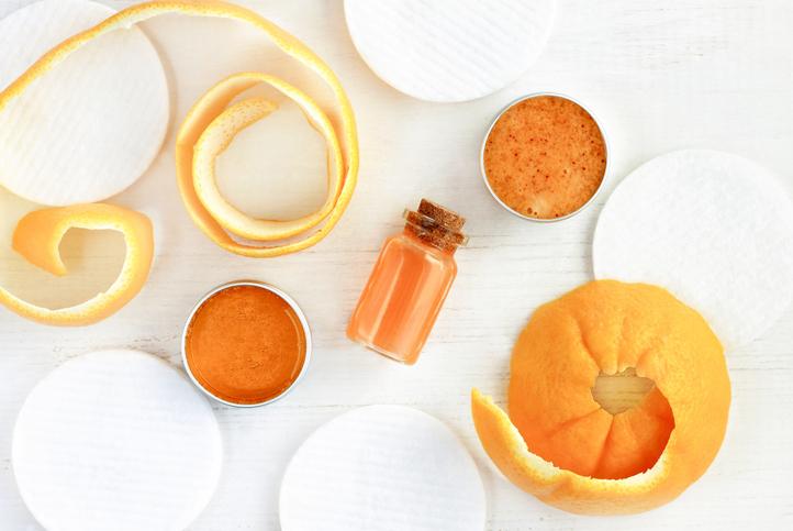 柑橘面膜,柑橘
