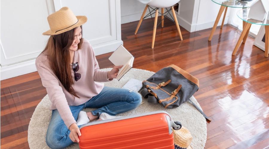 行李打包 行李收納 旅遊物品清單